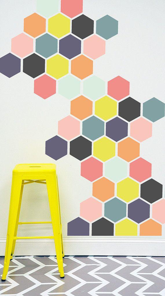 objets d co de formes hexagonales d 39 inspiration scandinave. Black Bedroom Furniture Sets. Home Design Ideas