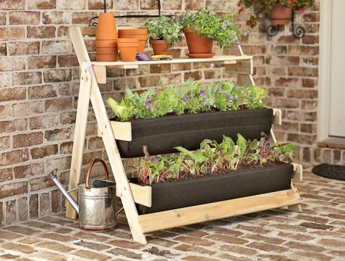 Cr er un potager urbain sur un balcon - Faire un jardin sur son balcon ...