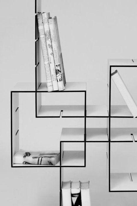 bibliotheque-geometrique-plexiglas-transparent-encastrable-design-