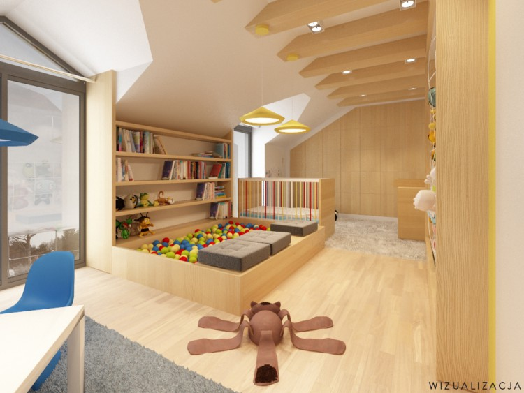 Coin jeux et veil dans une chambre de b b - Amenagement d une chambre bebe dans une chambre parents ...