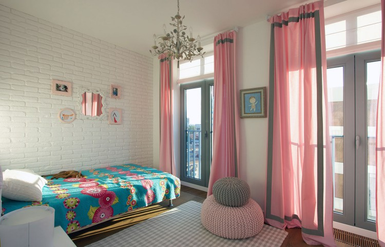 D coration pour une chambre de fille rose et gris for Deco de chambre rose et gris