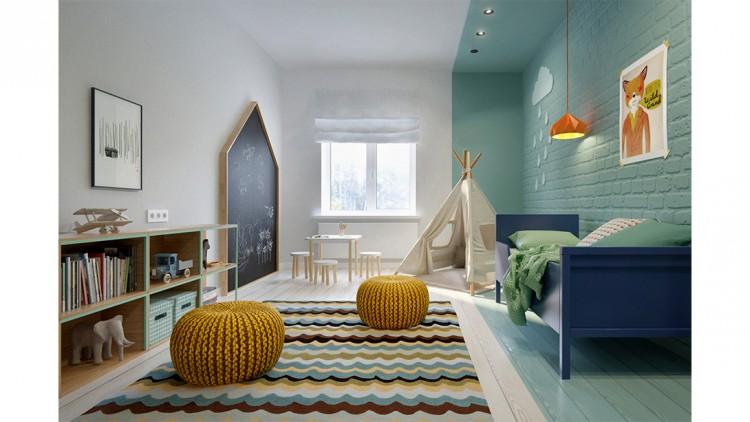 Projets d\'aménagements originaux pour chambres d\'enfant