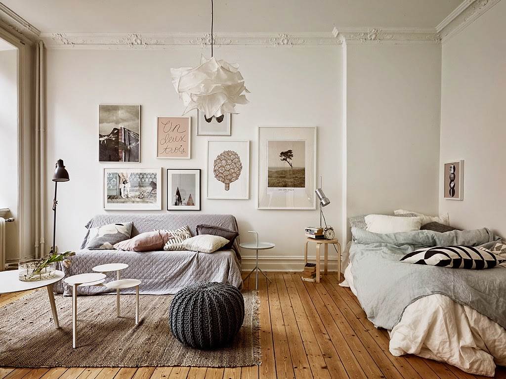d coration pastel dans un appartement ancien. Black Bedroom Furniture Sets. Home Design Ideas