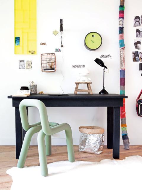 D co fonctionnelle et design dans un chambre d 39 adolescent - Styles de parquet chambre dinspiration scandinave ...