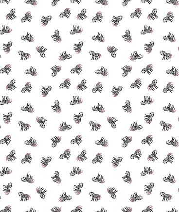 papier-peint-poney-rose-fille-chambre-bebe-enfant
