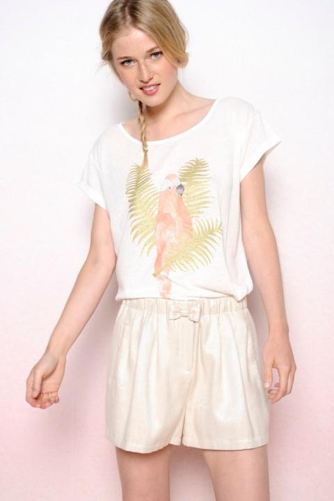 Tee shirt imprime perroquet - Perroquet pour vetement ...