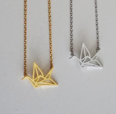 collier-dore-argent-inspiration-ethnique-oiseau-origami-7-bis