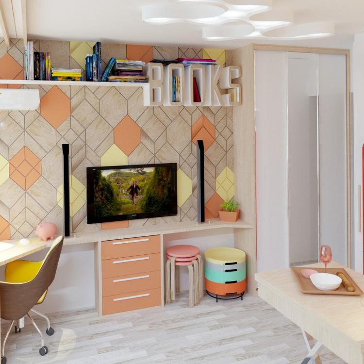 d co scandinave couleur corail. Black Bedroom Furniture Sets. Home Design Ideas