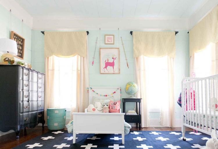 Une chambre pour deux enfants for Deco chambre deux enfants