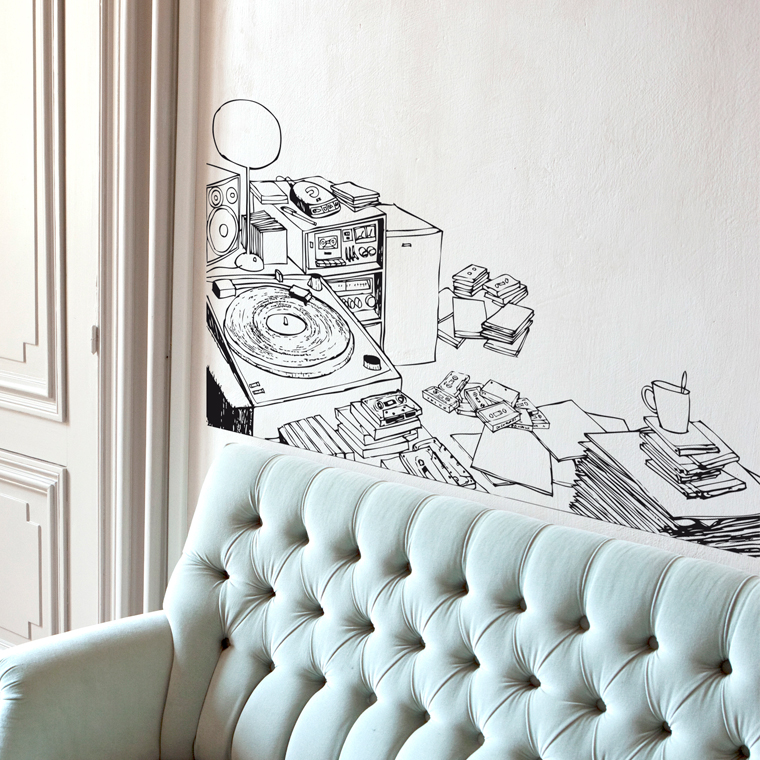 stickers-muraux-originaux-tourne-disque-platiqne-vinyls-chambre-canape-bleu-deco-design
