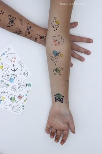 Tatouage éphémère tattoo sauvage