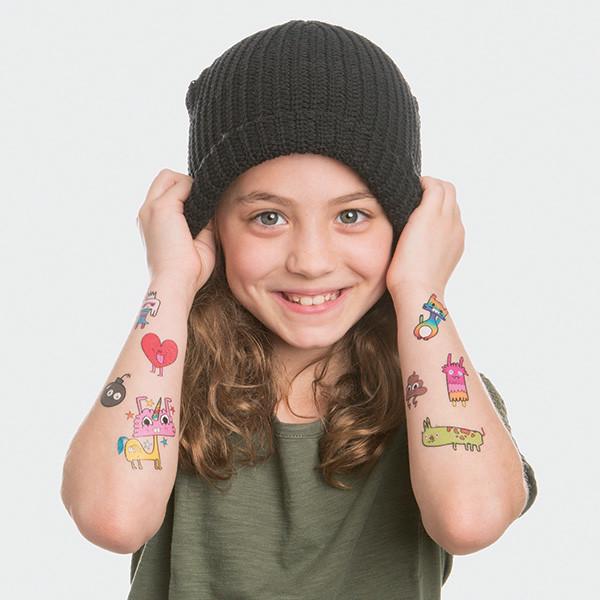 tatouage pour enfant couleur