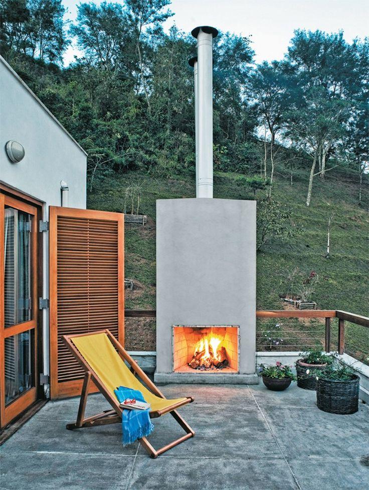 chemin e d 39 ext rieur pour une terrasse confortable et chaleureuse. Black Bedroom Furniture Sets. Home Design Ideas