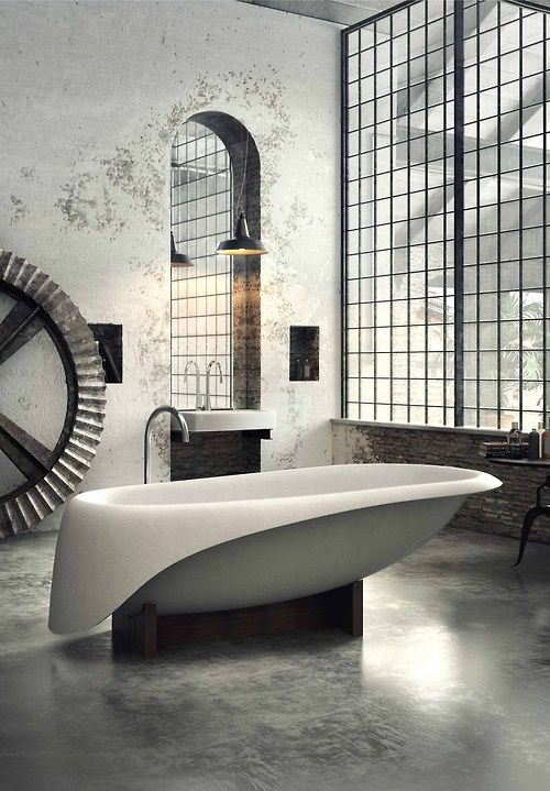 corian resine salle de bains deco design epuree blanc. Black Bedroom Furniture Sets. Home Design Ideas