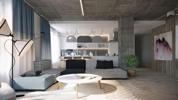 b ton brut apparent en d coration. Black Bedroom Furniture Sets. Home Design Ideas