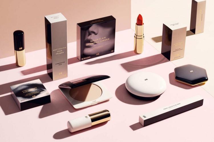 Gamme de produits de maquillage h&m