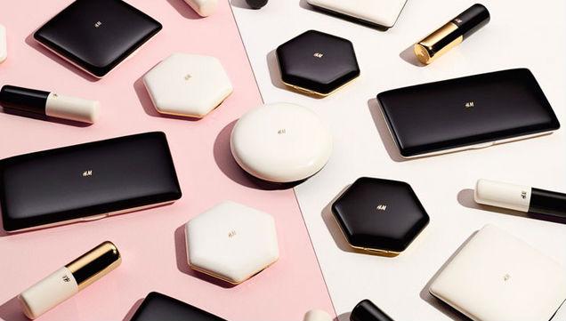 Maquillage h&m et son nouveau packaging