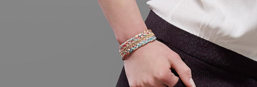 bijoux-createur-faits-main-bracelet-manchette-dore-fil-couleur-jez-handmade