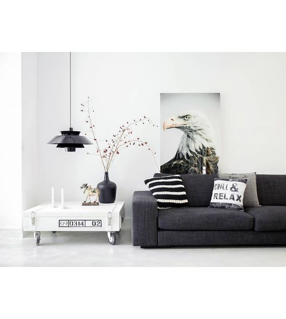 d co noire et blanc scandinave. Black Bedroom Furniture Sets. Home Design Ideas