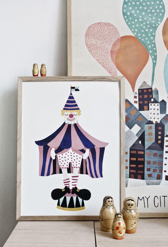 poster-affiches-inspiration-scandinave-clown-ville