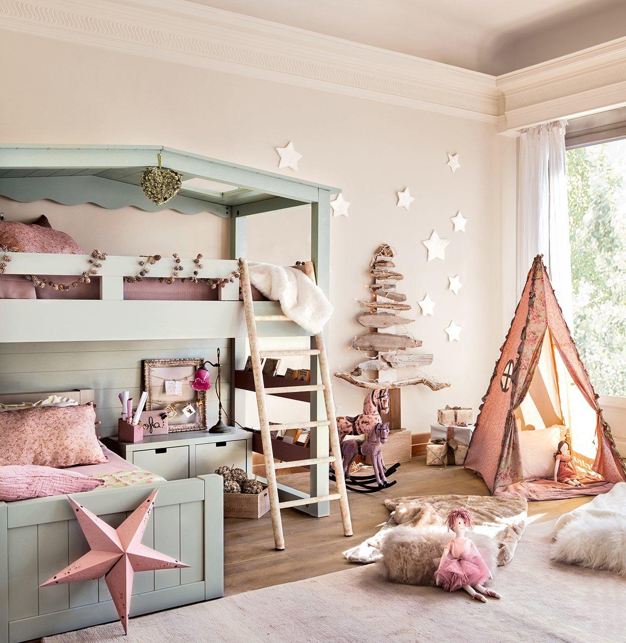 Souvent Chambre de rêve pour petites filles SV36