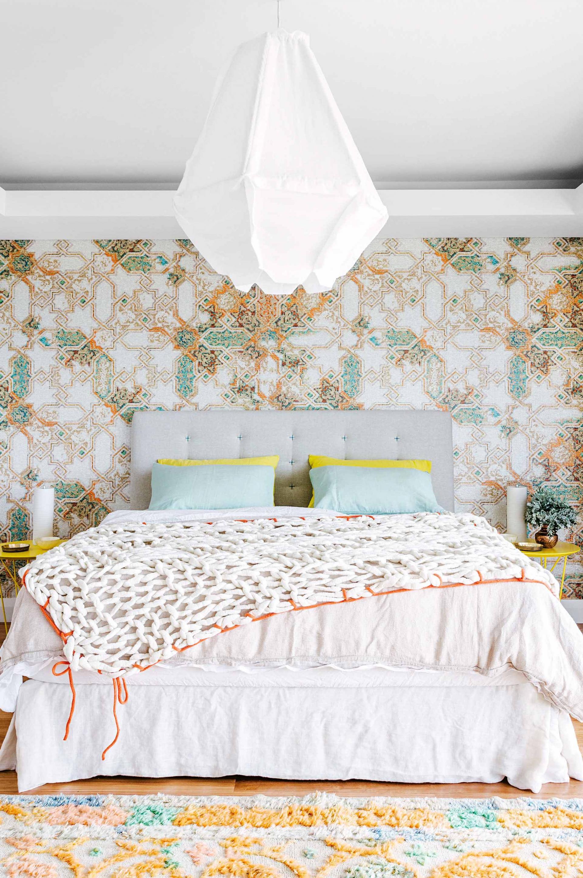 chambre esprit boh me. Black Bedroom Furniture Sets. Home Design Ideas