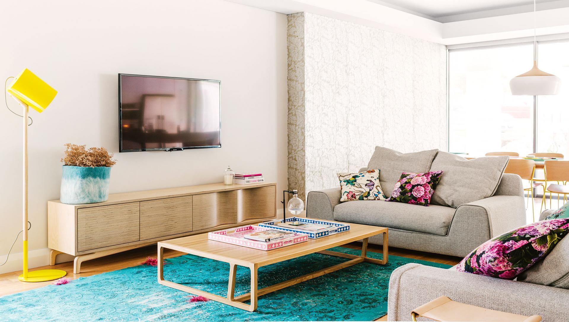 Appartement lumineux et notes color es - Charmant appartement lumineux touches couleurs ...