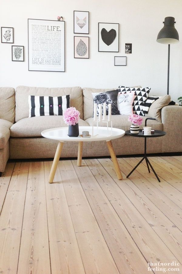 Inspirations de tables basses de style scandinave for Table basse scandinave pinterest