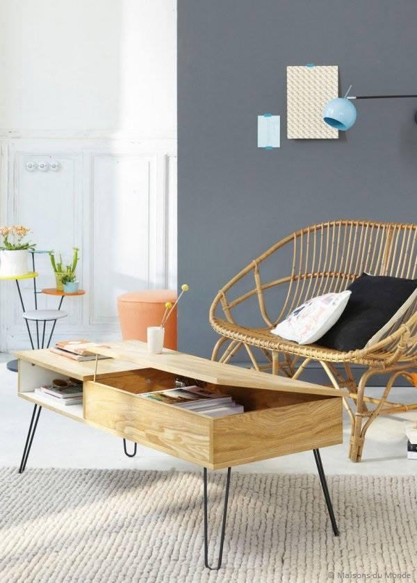 Inspirations De Tables Basses De Style Scandinave