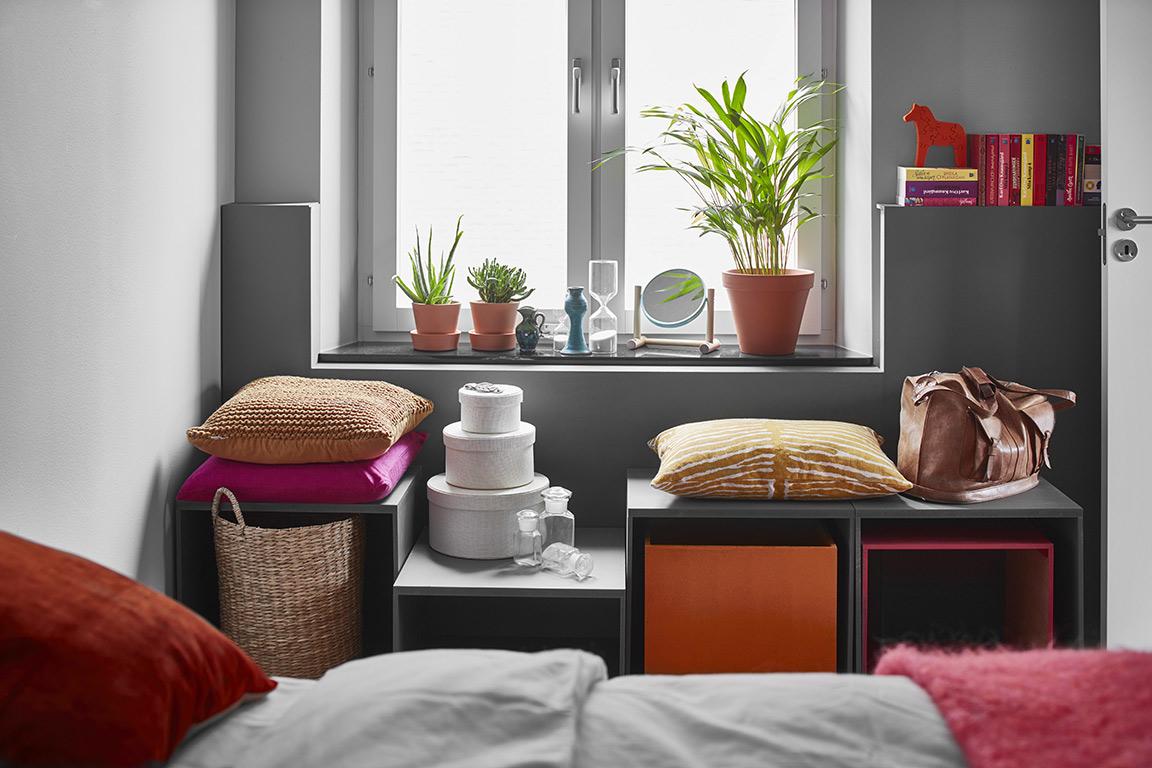 Am nagements modulables dans un appartement - Charmant appartement lumineux touches couleurs ...
