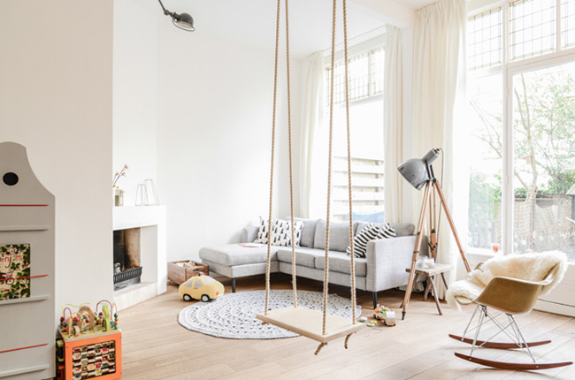 D co pur e dans un appartement de style scandinave - Decoration epuree salon ...
