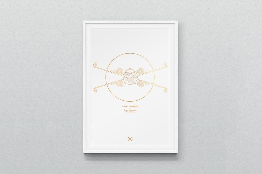 affiche-poster-design-minimalist-vaisseaux-star-wars-2