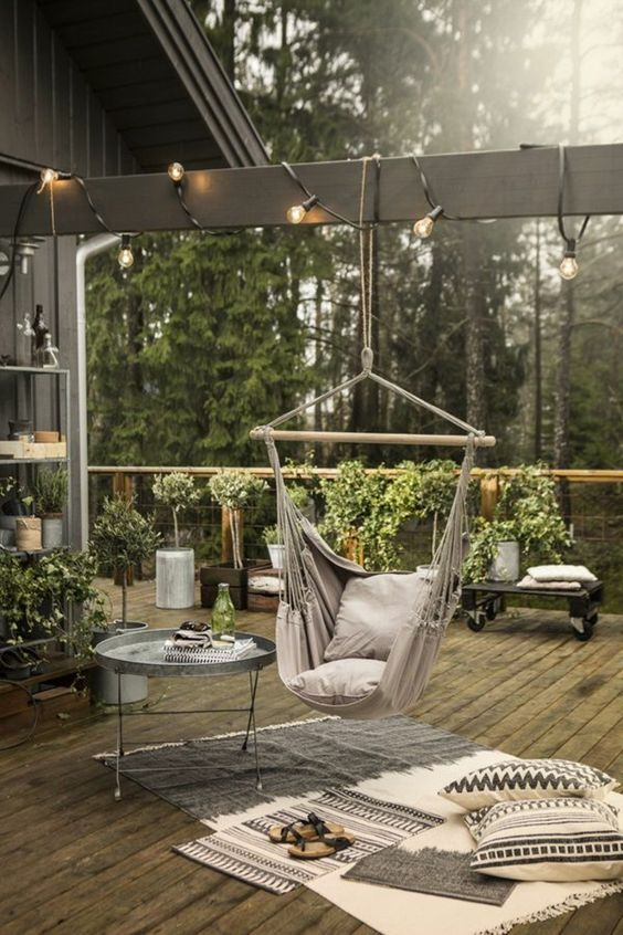 Idées d\'aménagements pour une terrasse