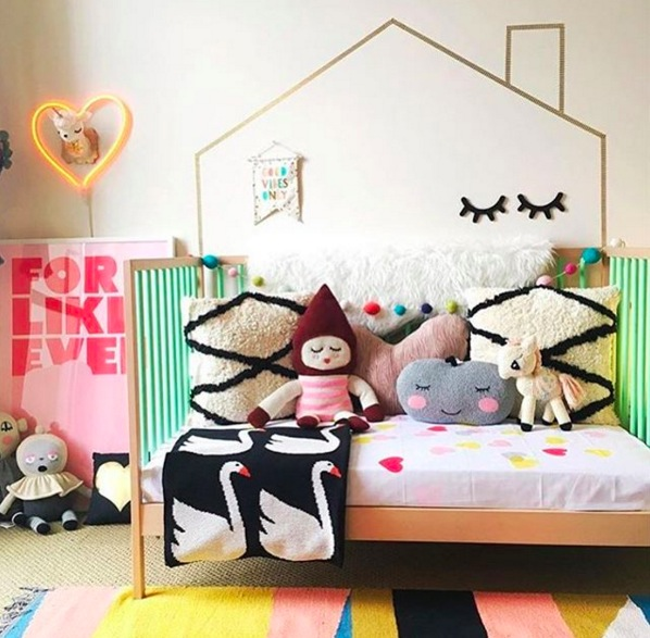 Déco d'une chambre d'enfant originale