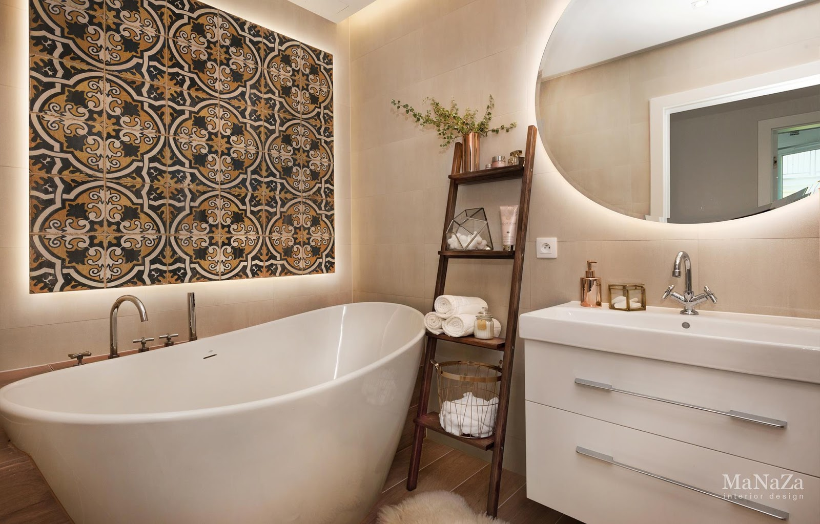 Idée déco d'une salle de bain