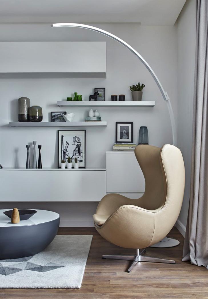 Salon avec des meubles BO concept