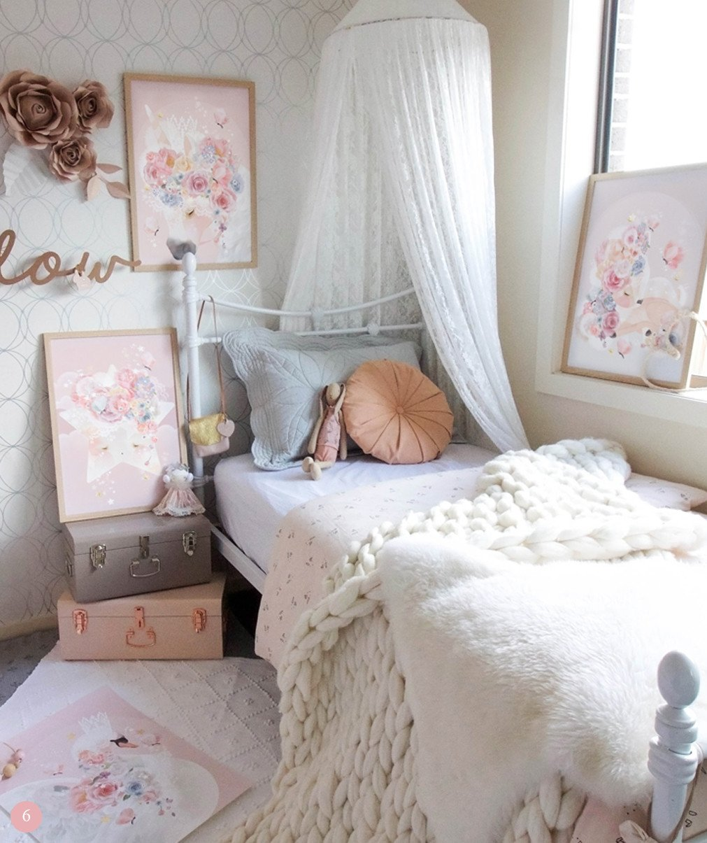 chambre fille romantique awesome chambre fille romantique with chambre fille romantique top. Black Bedroom Furniture Sets. Home Design Ideas