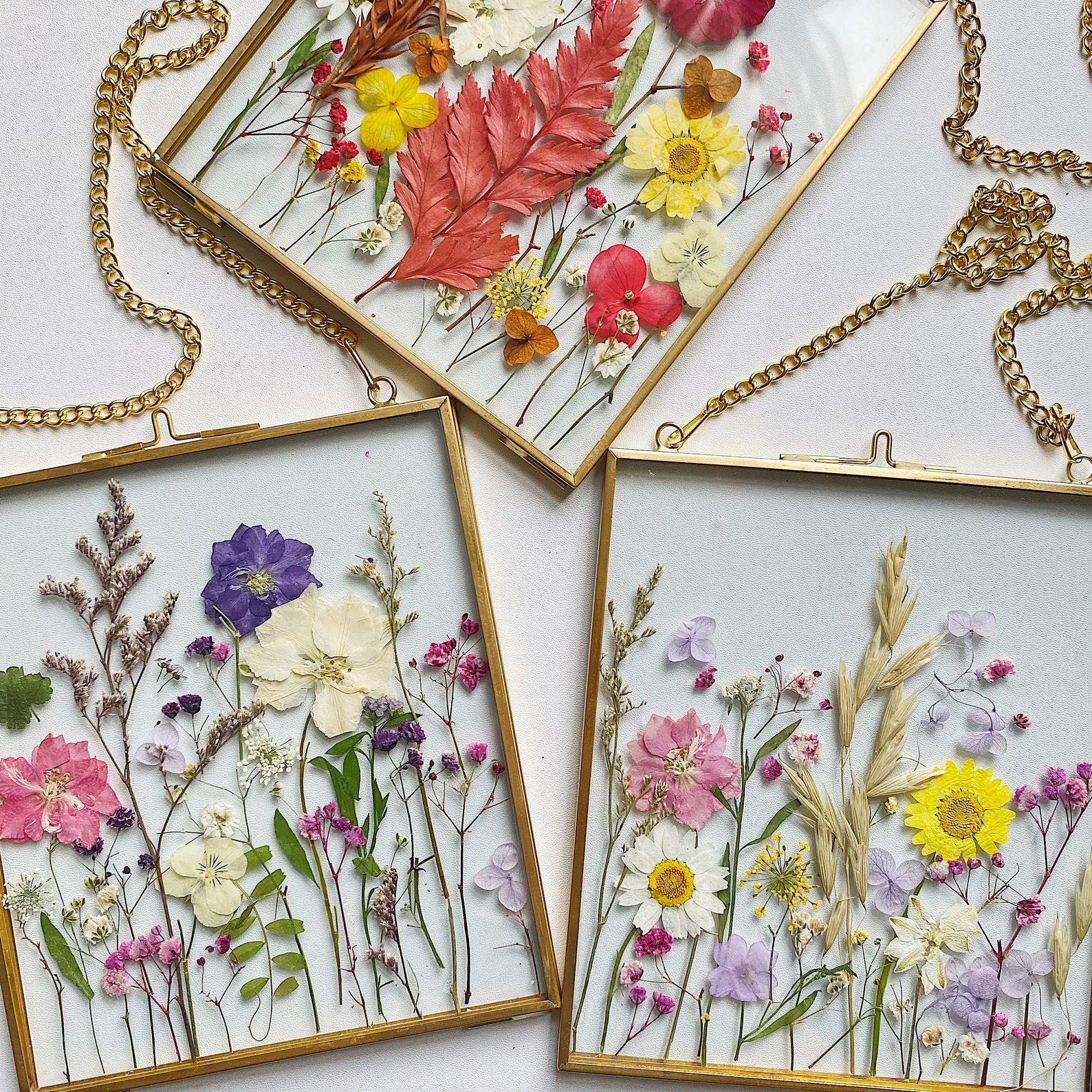 fleurs-sechees-encadrees